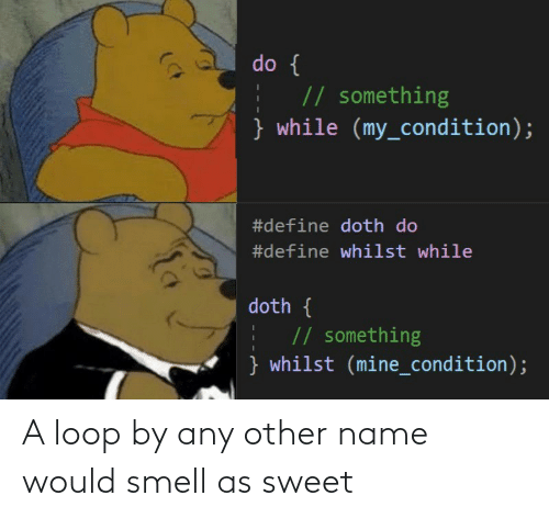 Smell: A loop by any other name would smell as sweet