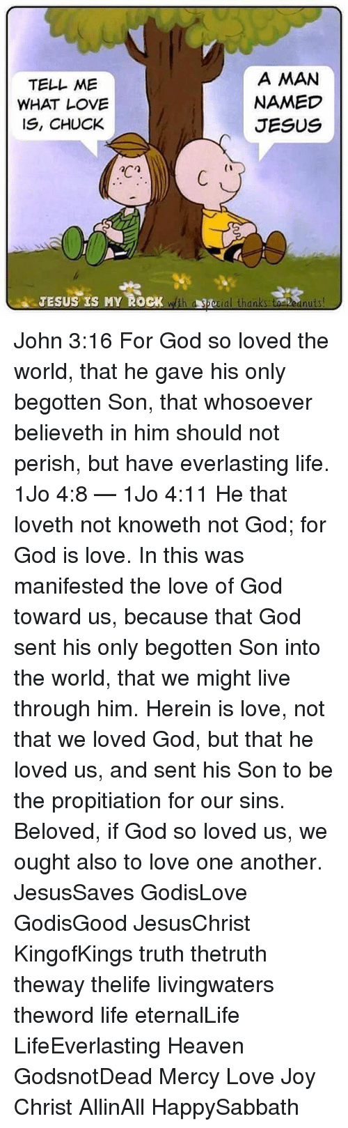 why is jesus the manifestation of gods love essay Jesus christ, the person his compassion, love i adjure you by the living god that you tell us if you are the christ the son of god jesus.