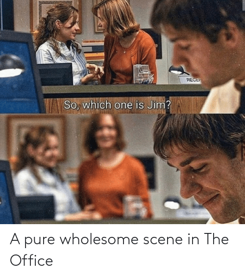 Wholesome: A pure wholesome scene in The Office