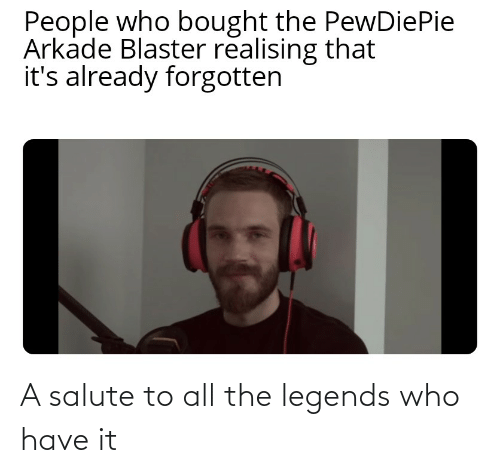 Salute: A salute to all the legends who have it