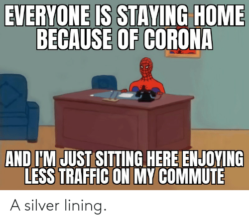 Silver: A silver lining.