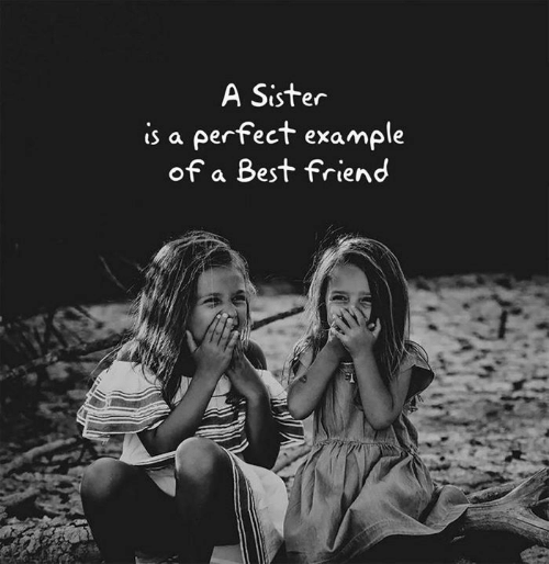 Best Friend, Best, and Friend: A Sister  is a perfect example  of a Best friend