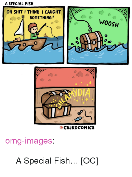 "woosh: A SPECIAL FISH  OH SHIT I THINKI CAUGHT  SOMETHING!  WOOSH  NDI  @CUJKOCOMICS <p><a href=""https://omg-images.tumblr.com/post/171228892637/a-special-fish-oc"" class=""tumblr_blog"">omg-images</a>:</p>  <blockquote><p>A Special Fish… [OC]</p></blockquote>"