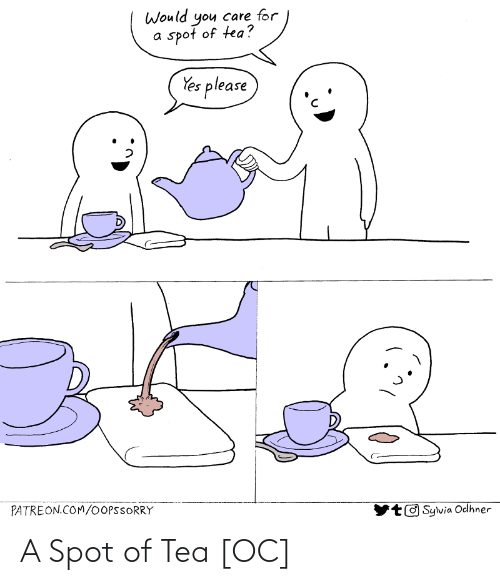 spot: A Spot of Tea [OC]