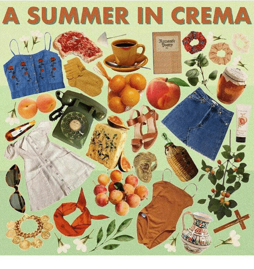 Summer, Romantic, and Crema: A SUMMER IN CREMA  Romantic  Doetty