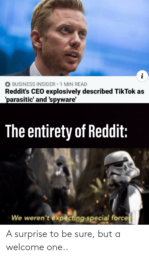 Sure But: A surprise to be sure, but a welcome one..