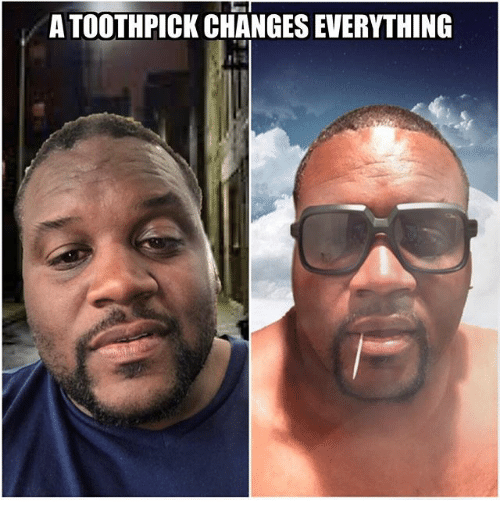 Memes, 🤖, and Everything: A TOOTHPICK CHANGES EVERYTHING