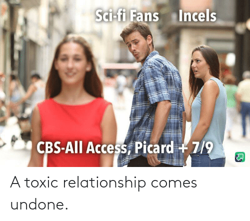Toxic Relationship: A toxic relationship comes undone.