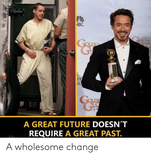 Change: A wholesome change