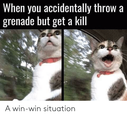 win win: A win-win situation