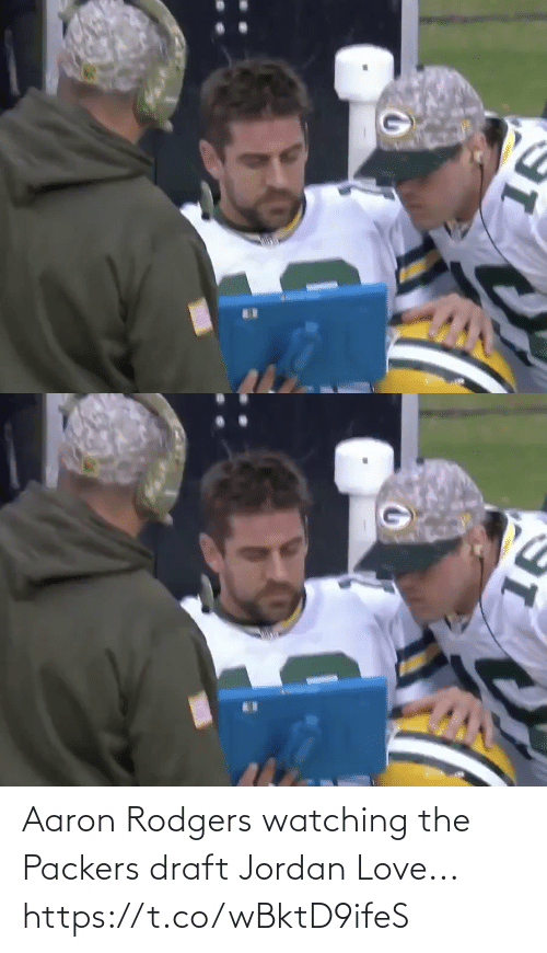 Aaron Rodgers: Aaron Rodgers watching the Packers draft Jordan Love... https://t.co/wBktD9ifeS