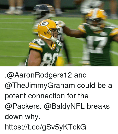 Memes, Packers, and 🤖: .@AaronRodgers12 and @TheJimmyGraham could be a potent connection for the @Packers.  @BaldyNFL breaks down why. https://t.co/gSv5yKTckG