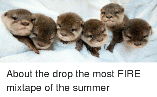 Fire, Summer, and Mixtape: About the drop the most FIRE mixtape of the summer