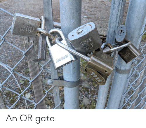 gate: ace  Sesamee An OR gate
