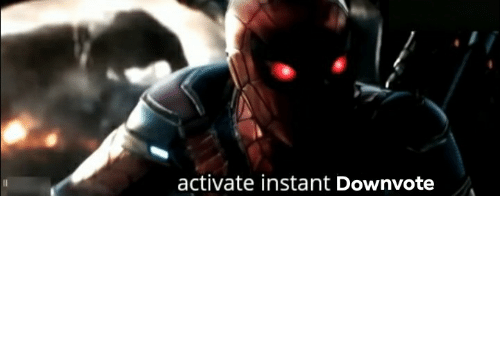 Animation Meme: activate instant Downvote When someone posts a bowling ally strike animation meme
