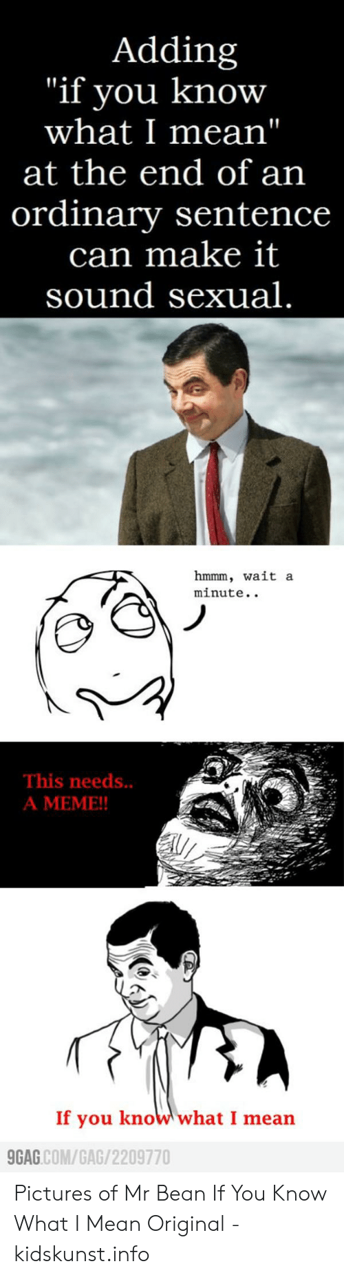 Mr bean waiting meme