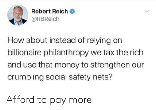 Afford: Afford to pay more
