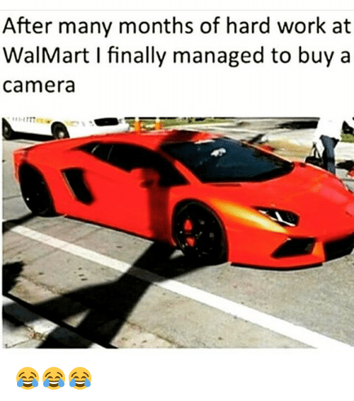 Finals, Funny, and Walmart: After many months of hard work at  WalMart I finally managed to buy a  Camera 😂😂😂