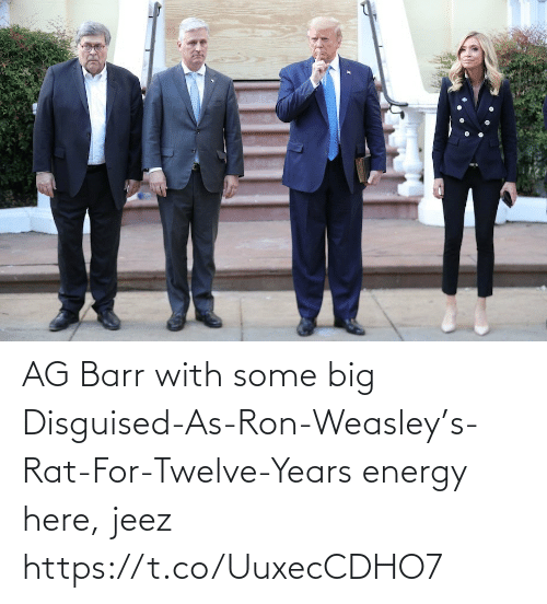 years: AG Barr with some big Disguised-As-Ron-Weasley's-Rat-For-Twelve-Years energy here, jeez https://t.co/UuxecCDHO7