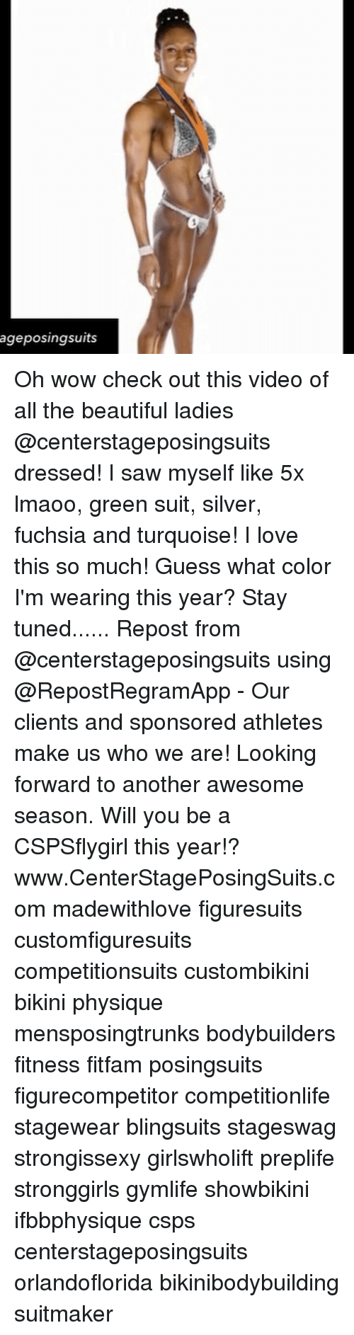 beauty lady: ageposingsuits Oh wow check out this video of all the beautiful ladies @centerstageposingsuits dressed! I saw myself like 5x lmaoo, green suit, silver, fuchsia and turquoise! I love this so much! Guess what color I'm wearing this year? Stay tuned...... Repost from @centerstageposingsuits using @RepostRegramApp - Our clients and sponsored athletes make us who we are! Looking forward to another awesome season. Will you be a CSPSflygirl this year!? www.CenterStagePosingSuits.com madewithlove figuresuits customfiguresuits competitionsuits custombikini bikini physique mensposingtrunks bodybuilders fitness fitfam posingsuits figurecompetitor competitionlife stagewear blingsuits stageswag strongissexy girlswholift preplife stronggirls gymlife showbikini ifbbphysique csps centerstageposingsuits orlandoflorida bikinibodybuilding suitmaker