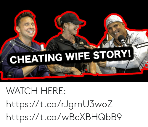 ags: AGS  CHEATING WIFE STORY! WATCH HERE: https://t.co/rJgrnU3woZ https://t.co/wBcXBHQbB9