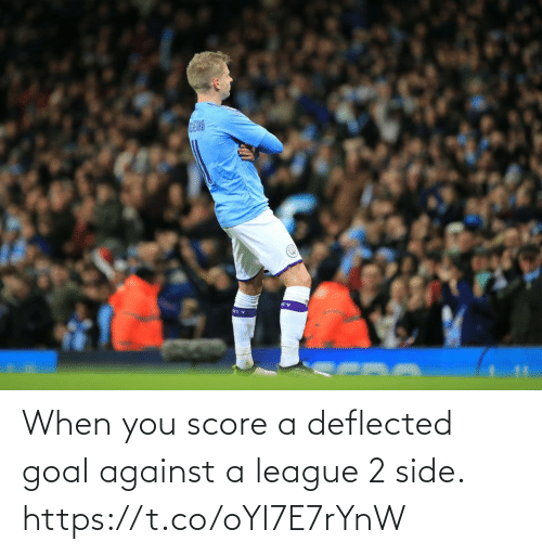 Against: AIND  ITY When you score a deflected goal against a league 2 side. https://t.co/oYl7E7rYnW