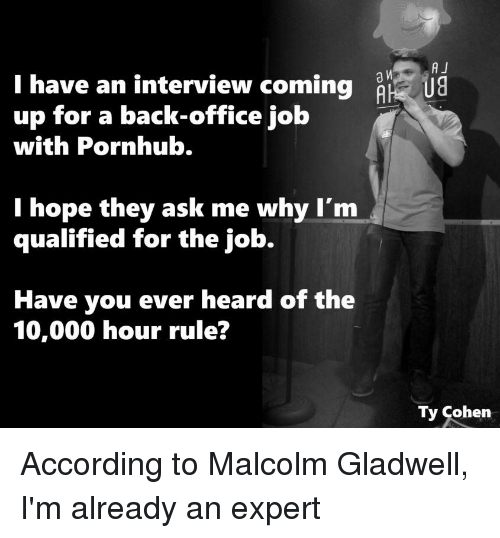 why i am qualified for a How to get a job you're not qualified for rachel sugar may 14 it's likely you're more qualified than you why millennials are scared of talking on the.
