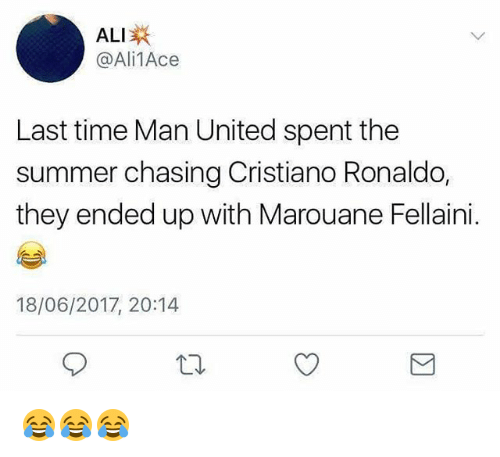 ALI 1Ace Last Time Man United Spent the Summer Chasing Cristiano