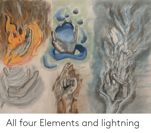 Lightning: All four Elements and lightning