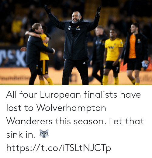 Let That Sink In: All four European finalists have lost to Wolverhampton Wanderers this season. Let that sink in. 🐺 https://t.co/iTSLtNJCTp