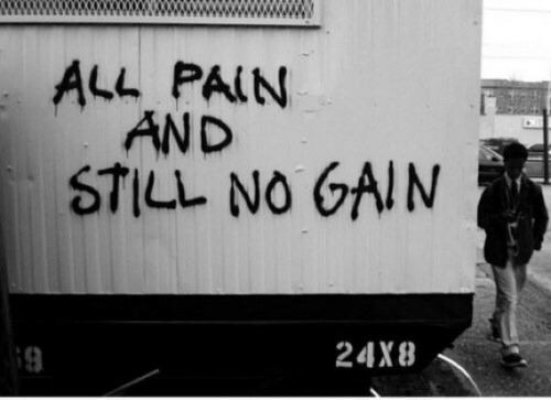 All, Gain, and Still: ALL PALNN  AND  STILL NO GAIN  9  24X8