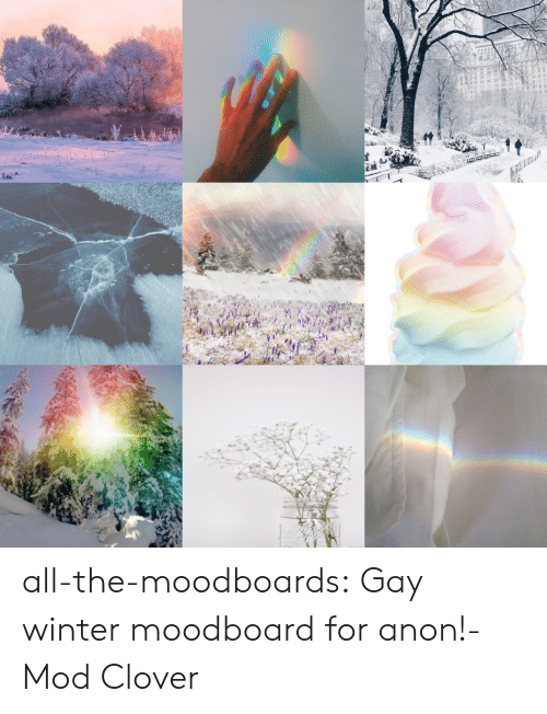 mod: all-the-moodboards:  Gay winter moodboard for anon!-Mod Clover