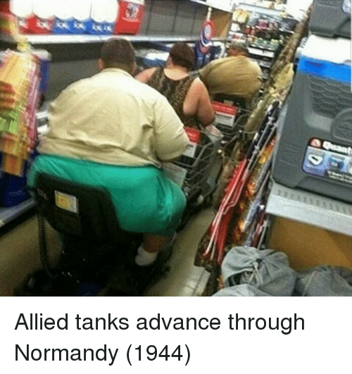 normandy: Allied tanks advance through Normandy (1944)