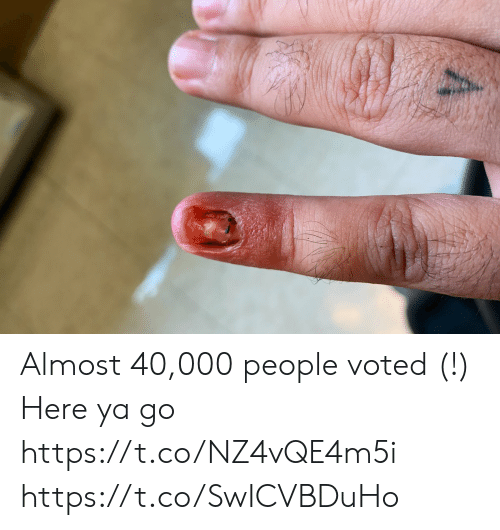 Voted: Almost 40,000 people voted (!) Here ya go https://t.co/NZ4vQE4m5i https://t.co/SwICVBDuHo