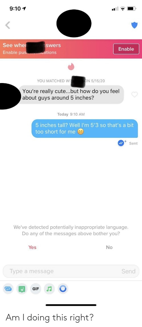 Am I Doing: Am I doing this right?