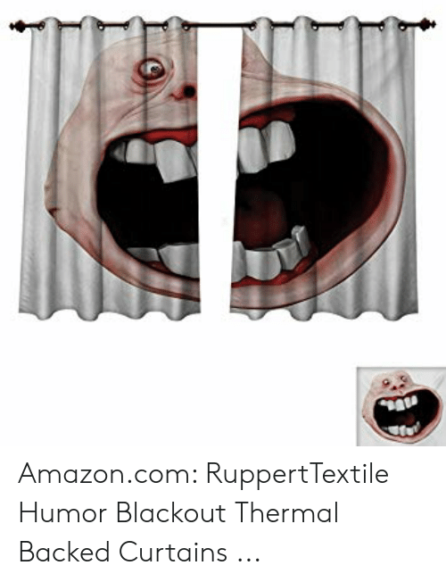 Windows Flag Meme: Amazon.com: RuppertTextile Humor Blackout Thermal Backed Curtains ...