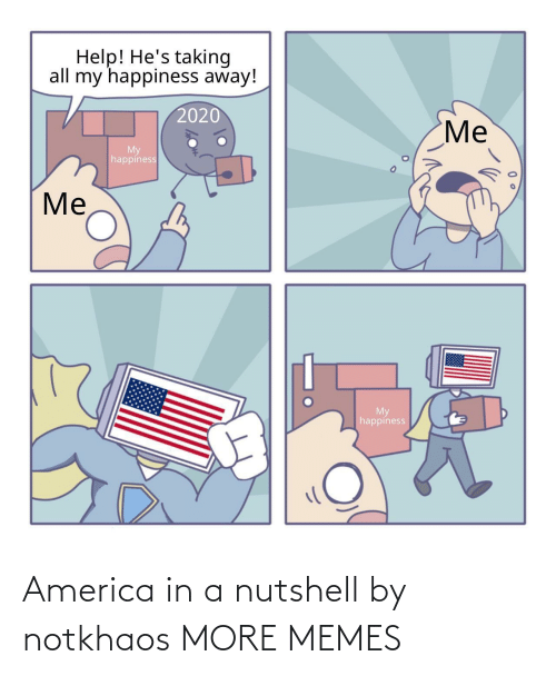 America: America in a nutshell by notkhaos MORE MEMES