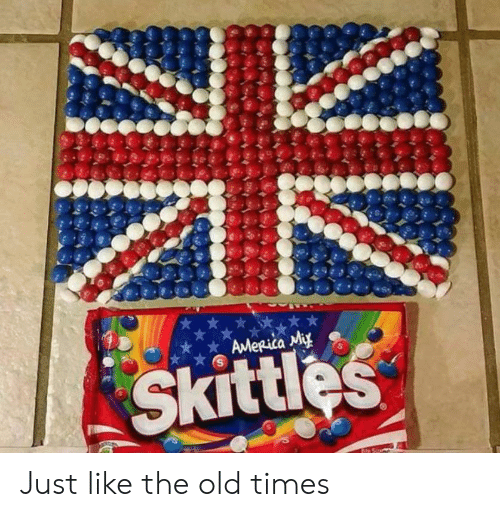 skittles: AMeRica Miy  Skittles Just like the old times