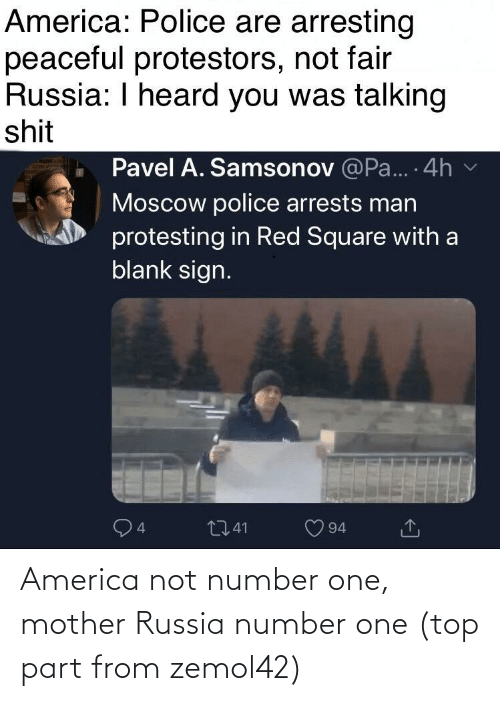 Number: America not number one, mother Russia number one (top part from zemol42)