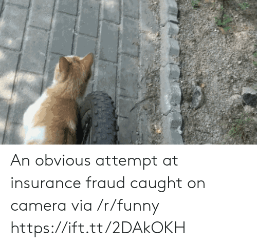 caught on camera: An obvious attempt at insurance fraud caught on camera via /r/funny https://ift.tt/2DAkOKH