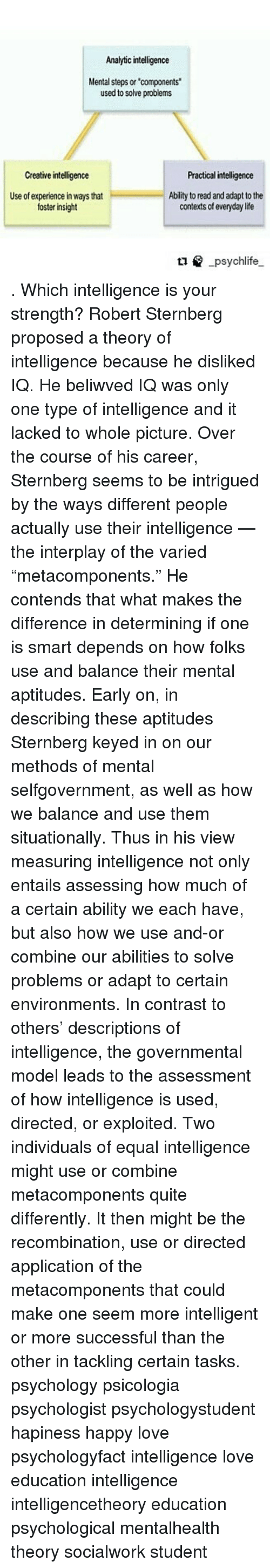 intellligence in everyday life and problems with measuring iq