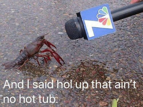 That Aint: And I said hol up that ain't  no hot tub: