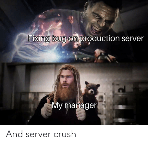 server: And server crush