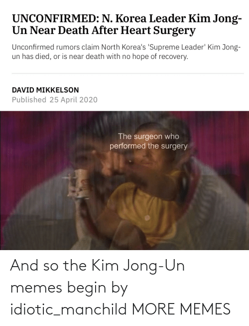 Dank, Kim Jong-Un, and Memes: And so the Kim Jong-Un memes begin by idiotic_manchild MORE MEMES