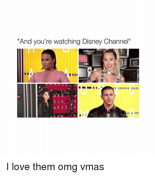 And Youre Watching Disney Channel