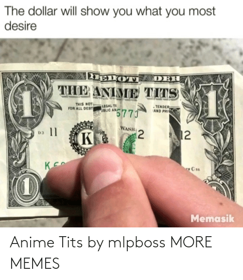 anime: Anime Tits by mlpboss MORE MEMES