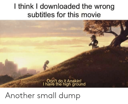 small: Another small dump