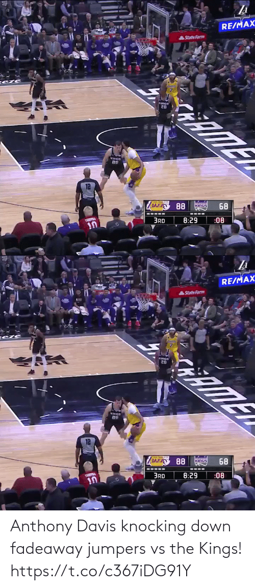 davis: Anthony Davis knocking down fadeaway jumpers vs the Kings!   https://t.co/c367iDG91Y