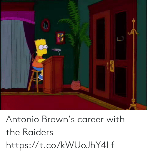 Antonio Brown: Antonio Brown's career with the Raiders https://t.co/kWUoJhY4Lf