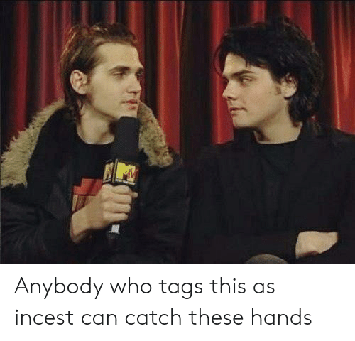 These Hands: Anybody who tags this as incest can catch these hands